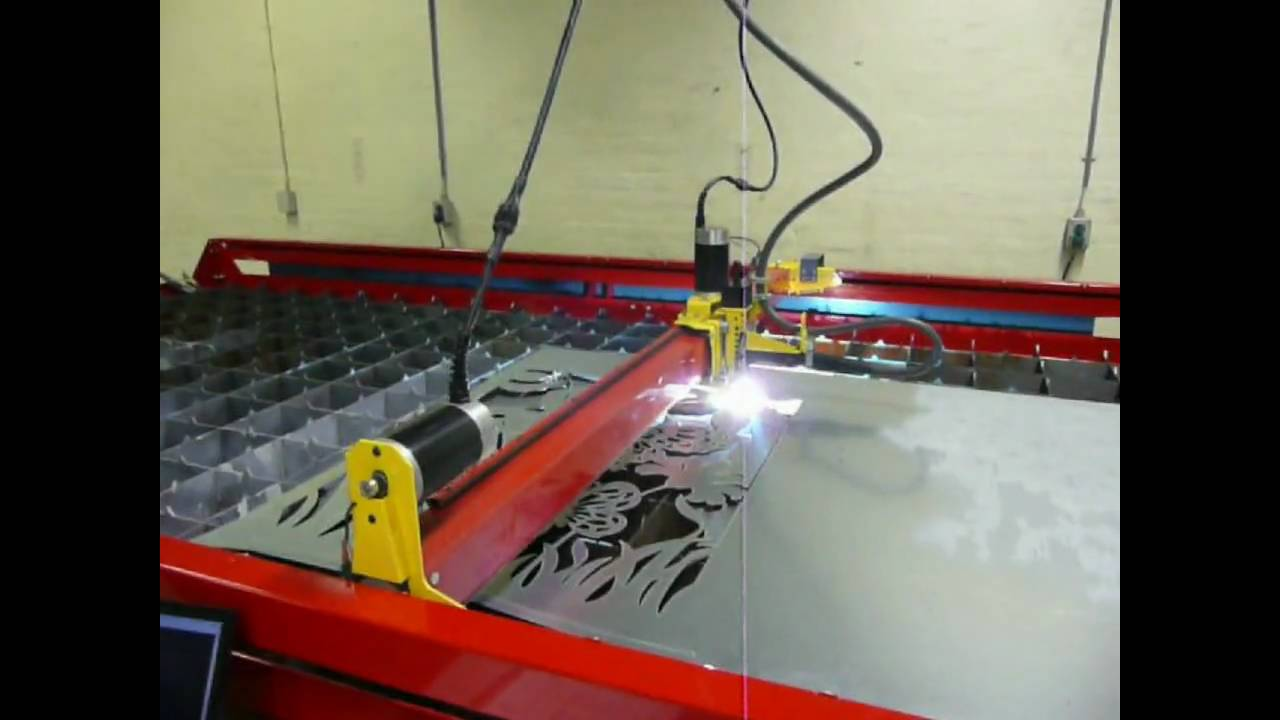 Cnc Plasma Metal Art Youtube