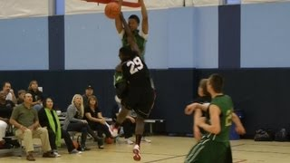 Repeat youtube video INSANE DUNKS!!!  Check out the I-10 Celtics Black - 14u