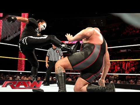 Sting vs. Big Show: Raw, Sept. 14, 2015