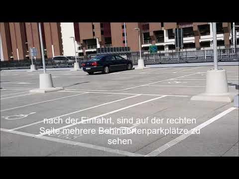 Behindertenparkplätze (Short-term) FRANKFURT Airport / Terminal 1
