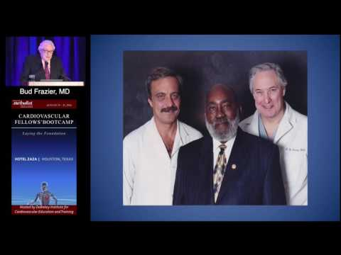 Past, Present and Future of Mechanical Circulatory Assist (Bud Frazier, MD) Keynote