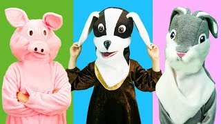 Animals wrong head and Children Dance | Video for Toddlers