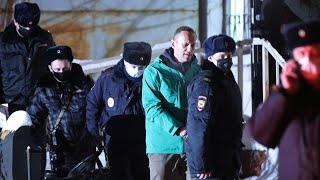 L'opposant Alexeï Navalny en prison