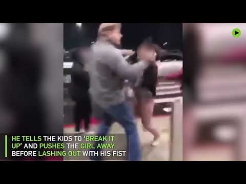 'Break it up': Man knocks out 11yo girl after being taunted, charged with assault (WARNING: GRAPHIC)