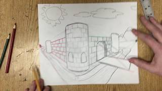 How to Draw in 2 Point Perspective