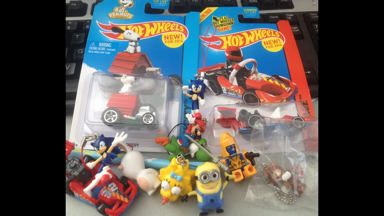 Random Stuff Thursdays Hot Wheels, Minions, Mario Bros