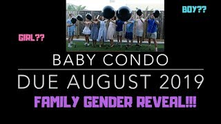CUTEST GENDER REVEAL!! (WE GOT OUR FAMILY TO REVEAL IT)