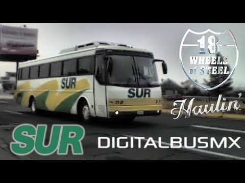 Autobuses SUR  Digital Mod Bus Mexico (juegos en simulador) Cap.2