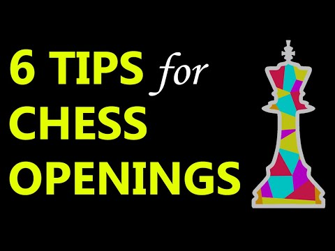 Master Chess Openings in 6 Minutes: GM Tips, Tricks, Principles, Strategies, Tactics, Ideas & Moves
