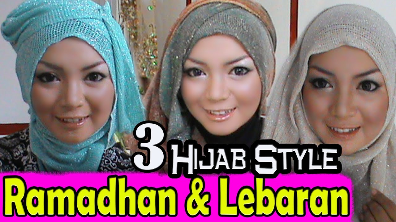 3 Tutorial Hijab Ramadhan Dan Lebaran Hari Raya By AWMCollection