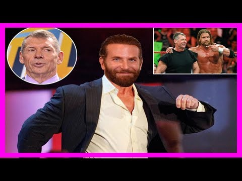 Hollywood a-lister bradley cooper 'offered role as wwe chief vince mcmahon'