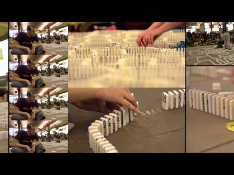 The 10,000 Domino Computer