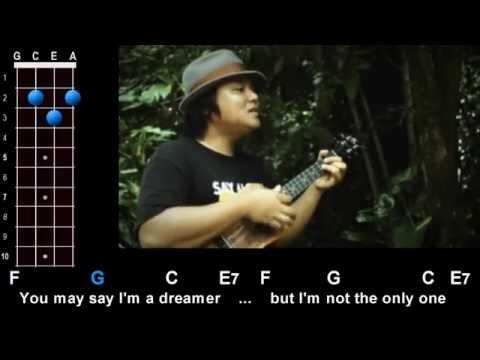 """Imagine"" (John Lennon) Ukulele Play-Along!"