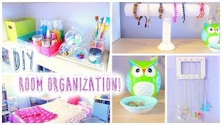 One of JENerationDIY's most viewed videos: DIY Room Organization and Storage Ideas for Summer!