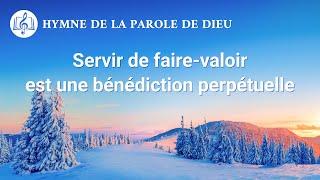 Musique chrétienne en français « Servir de faire-valoir est une bénédiction perpétuelle »