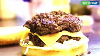 "Burger that will Break Your ""JAW"" 