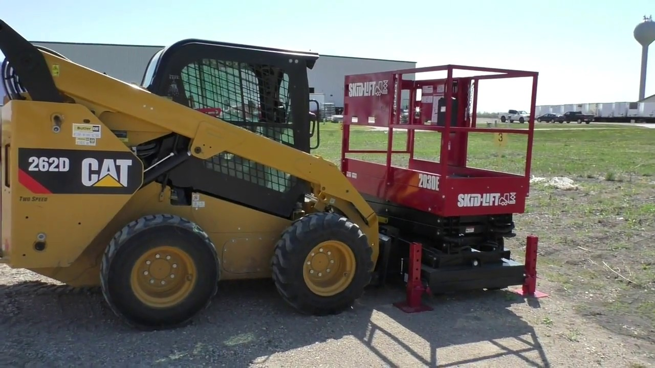 enabling auxiliary hydraulics on a cat 262d skidsteer