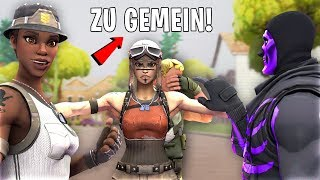 I play as NOSKIN and am bullied by OG SKINS and then show RENEGADE RAIDER..! (Fortnite)