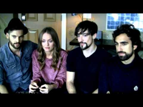Da Vinci's Demons cast interview - 2014 NYCC