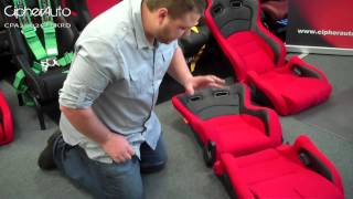 Cipher Auto Cpa2000 Series Racing Seats & Brackets Installation Guide (part 1 Of 4)