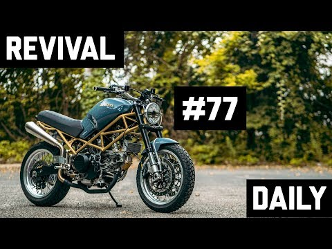 Modernizing an Airhead BMW, a Roundcase Ducati and a custom Ducati Monster // Revival Daily 77