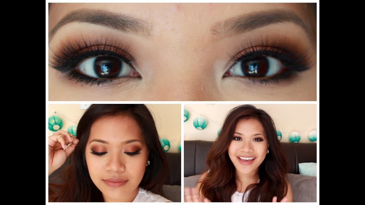 Antiqued Smokey Eye   makeupbyritz - YouTube