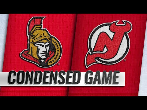 12/21/18 Condensed Game: Senators @ Devils