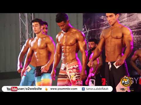 Physics Championships in Egypt Events of the strongest Bodybuilding Mr. Fit Gym Classic 2017