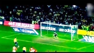 Incredible football penalty
