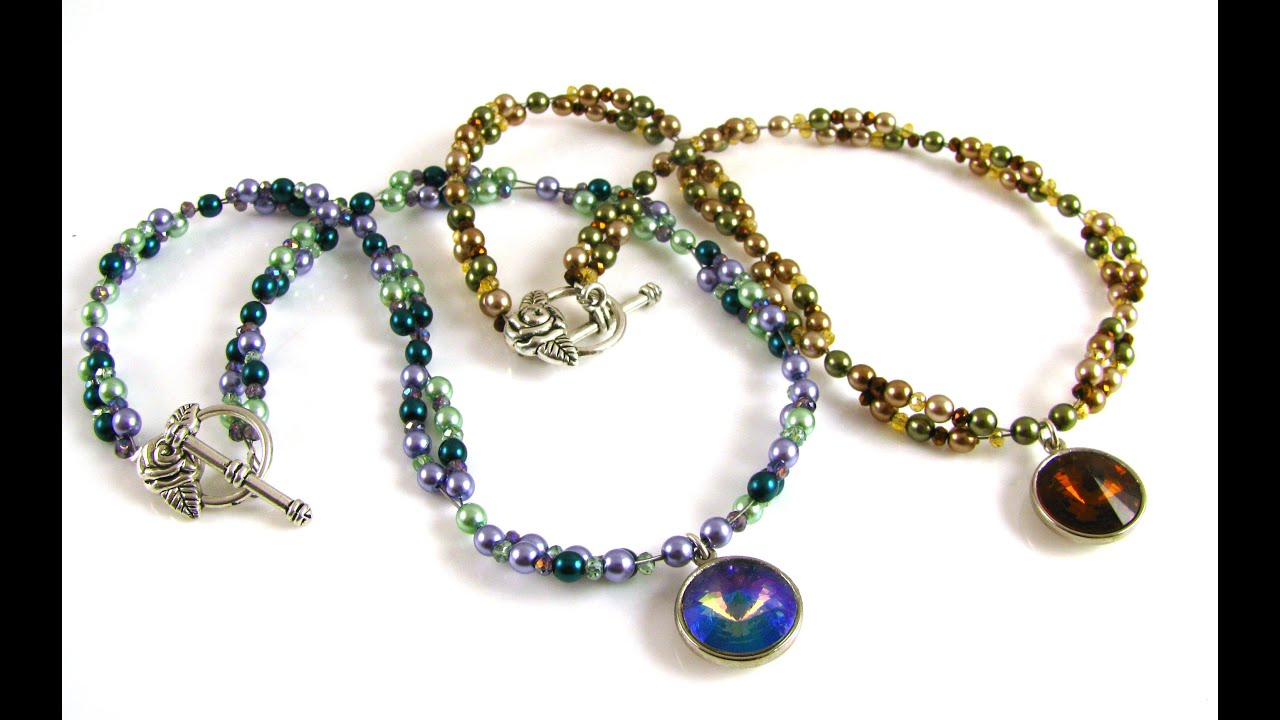necklace indian ana at necklaces beads anaconda sapphire gold in zoom waterfall