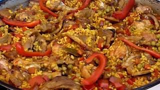 Paella ( Arroz 3 Carnes )