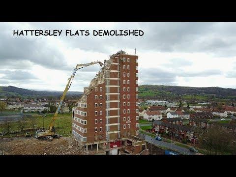 Hattersley flats - end of an era - Mavic pro
