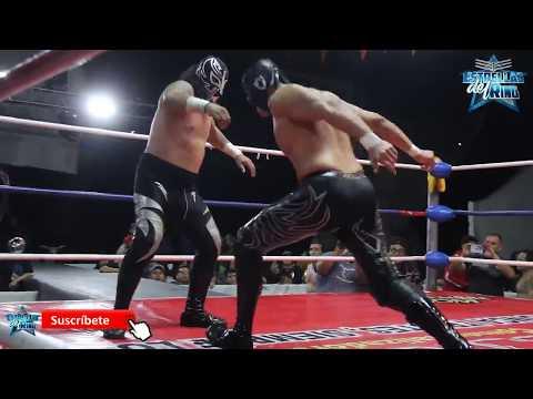 Sansón, Cuatrero y Forastero vs Rayman, Mike Suicida y Freelance en Lucha BOOM.