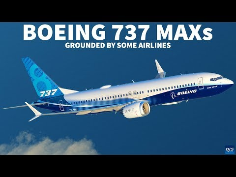 Boeing 737 MAX Grounded by Some Airlines