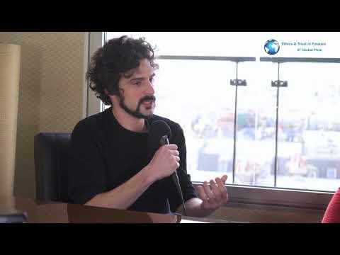 "Interview of Brett Scott, third Prize ex-aequo of ""Ethics & Trust in Finance"" (2016-2017)"