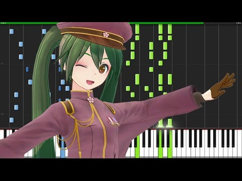 Senbonzakura (千本桜) - Hatsune Miku [Piano Tutorial] (Synthesia) // The Piano Devil