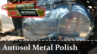 Autosol Metal Polish | Engine Cover | Royal Enfield Bullet 500