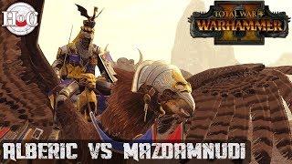 Alberic vs Mazdamundi - Total War Warhammer 2 - Online Battle 212
