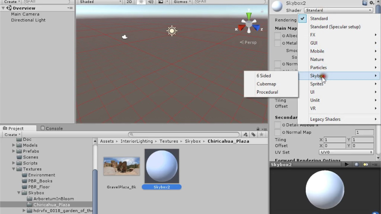 [Tutorial Unity 5] Create HDR Skybox