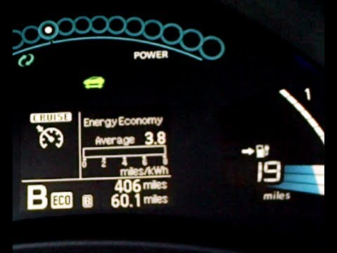 Nissan Leaf Road Trip - Range - Guess-O-Meter Test