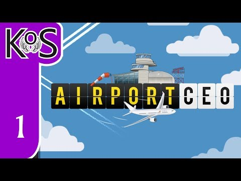 Airport CEO - (LIVESTREAMED): Learning as we go! - First Look - Let's Play, Gameplay ACEO