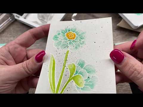 How To Watercolor An Embossed Image With Lots Of Tips And Tricks!