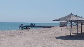 1 Мая на пляже Азовского моря Кирилловка 2020