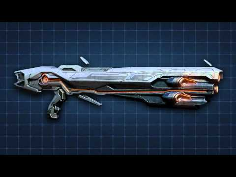 """""""Halo 4"""" Weapons of Halo 4- Scattershot"""