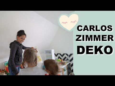 kinderzimmer-dekoration-mit-feuerwehrmann-sam---vlog#1227-rosislife