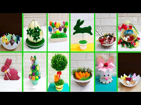 diy-12-economical-easter-craft-made-with-waste-materials-|diy-low-budget-easter/spring-decor-idea