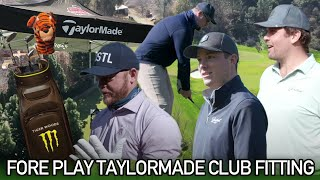 Fore Play Gets Fitted At The Kingdom At TaylorMade