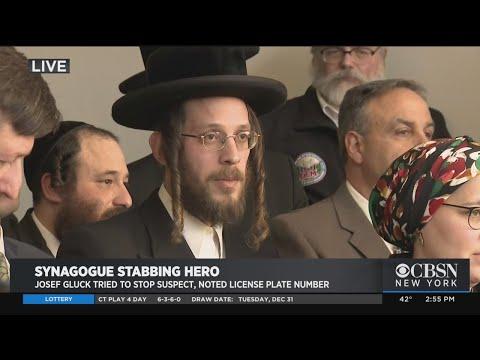 Officials Honor Synagogue Attack Hero Josef Gluck