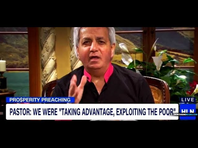 Benny Hinn Repents For Prosperity Preaching