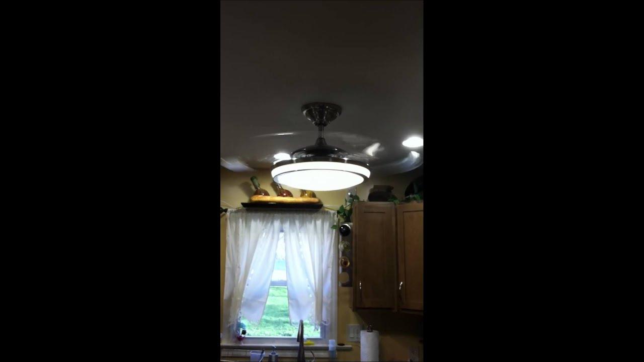 Fanaway Fan Installed In Kitchen